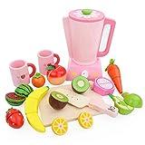 YeahiBaby Küchenspielzeug Küchengerät Entsafter Schneidbaren Obst Gemüse Messer Nahrungsmittel Lebensmittel Schneiden Spielzeug