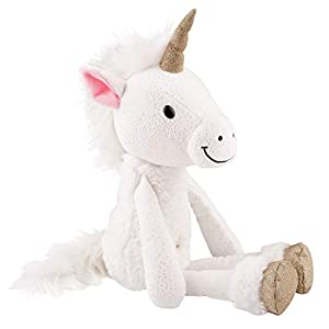 Depesche 7761 Peluche Unicornio Princess Mimi, Pony Bonny, Aprox. 38 cm, Color Blanco