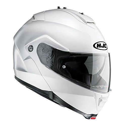 HJC IS-MAX II Aufklappbar Vorne Motorrad Helm - Weiß, Medium (Hjc Helm Street Bike)