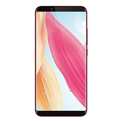 Smartphone-ohne-Vertrag, UMIDIGI S2 Lite 6 Zoll Smartphone mit 18:9 Infinity Display, 4GB RAM + 32GB Speicher, 16MP+5MP Dual-Lens-Kamera, 5100mAh Batterie, Android 7,0, Face Unlock, Vollmetall Unibody, Octa Core, Dual SIM, USB Type-C, Schwarz