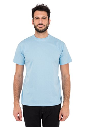 Fruit of the Loom Herren T-Shirt Valueweight T Blau (Blue Yt)