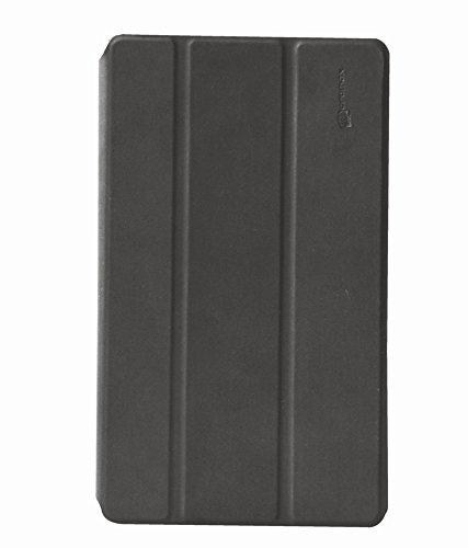 Micromax Orginal Flip Cover For Canvas Tab P666- BLACK