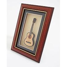 Cherrystone 4260180889611 miniatura Cuadro de instrumentos musicales enmarca Guitarra Clásica (G14)