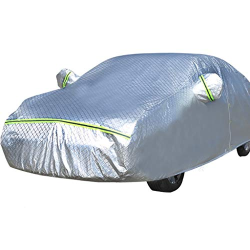 HWHCZ Autoabdeckung Chevrolet Car Cover Limousine Cover Wasserdichte Schneedecke All Weather Schützen Sie Sich vor Feuchtigkeit Schnee Frost Korrosion Staub Outdoor UV-Schutz (Farbe : Aveo)
