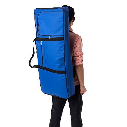 qees 61Note Gigbag, E-Piano 600D Oxford Tuch mit 10mm Baumwolle Fall Gigbag–101,6x 40,6x 15,2cm (gjb54) blau