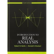 Amazon robert g bartle libros introduction to real analysis 4th edition by bartle robert g sherbert donald fandeluxe Choice Image
