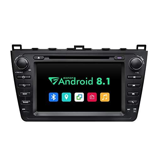 eonon GA9298B für Mazda 6 2009 2010 2011 2012 Android 8.1 2G RAM 32G ROM Quad-Core 20,3 cm HD Touchscreen Audio Video Stereo DVD GPS kompatibel mit Bose System Bluetooth 4G Dongle WiFi - Radio Mazda 6