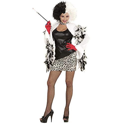 Erwachsenenkostüm Evil Mistress (Cruella De Vil Kostüm Zubehör)