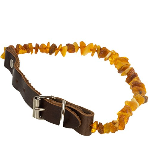 1241-dog-collar-flea-tick-protection-untreated-natural-amber-leather-collar-large