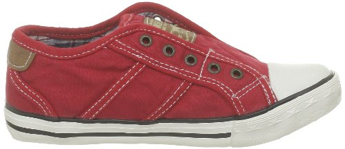 Mustang 5803405, Baskets mode mixte enfant Rouge (5 Rot)
