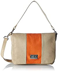 Baggit Womens Shoulder Bag (Beige)