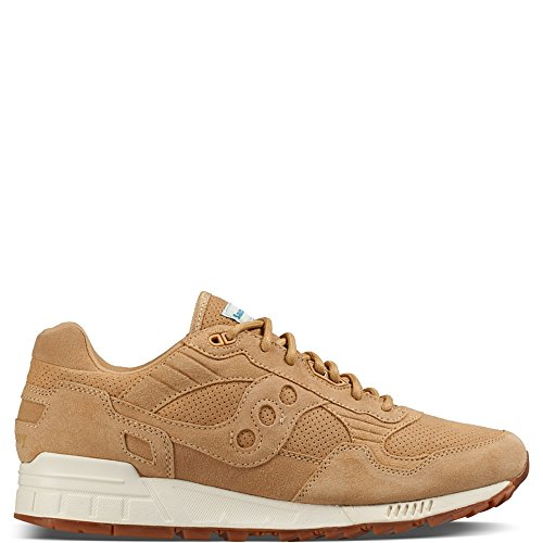 Saucony Hommes Wheat Shadow 5000 Basket Beige