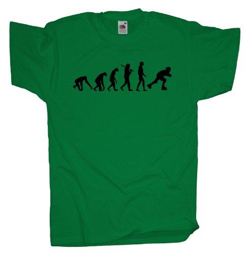 Ma2ca - Evolution - Rollerskates T-Shirt Kelly