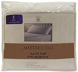 Sultans Linens Microfiber Hypo-Allergenic Mattress Pad, Full