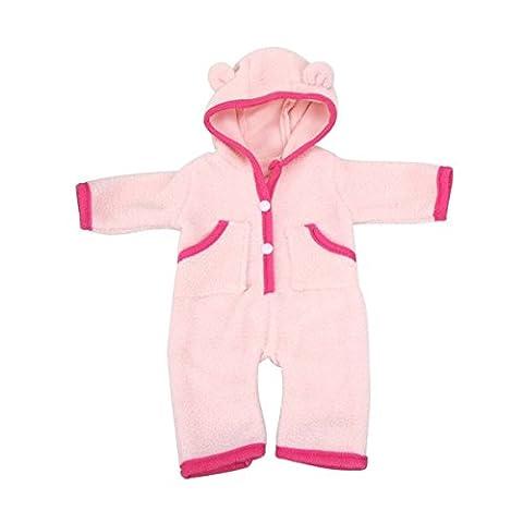 Vêtements de poupée, AOFUL Bodysuit Jumpsuit 18 Pouces Poupée American Fille Doll Vêtement