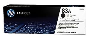 HP 83A Cartouche de Toner Noir Authentique (CF283A)