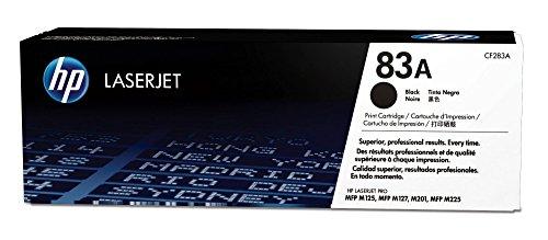 HP83A CF283A pack de1, toner d'origine, noir