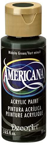 DecoArt Americana Mehrzweck-Acrylfarbe, 59 ml, Midnite Grün