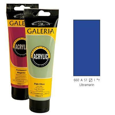 Winsor & Newton Galeria Acrylic Color 60ml-Ultramarine