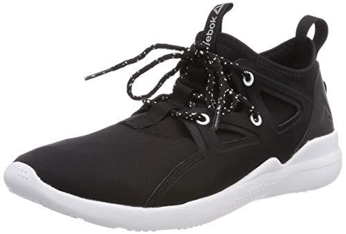 5f644396f2 Reebok Damen Cardio Motion Fitnessschuhe Mehrfarbig (Black/White/Silver Met  000) 40