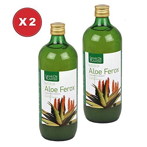 Aloe Ferox Succo Biologico 2 Confezioni da 1 Litro - Ligne de Plantes
