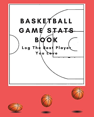 basketball game stats book: Large Size (8