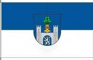 Königsbanner Hochformatflagge Polle - 150 x 500cm - Flagge und Fahne