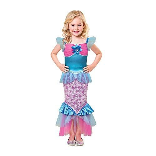 Girls Little Mermaid Purple Fancy Dress Book Week Costume