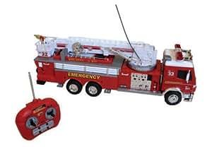 Splash toys - 14112 - Radio Commandé - Camion de Pompier - 76 cm