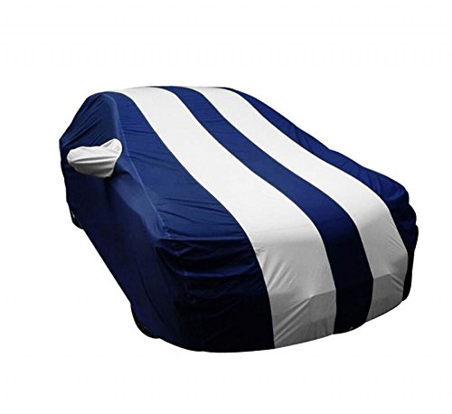 Auto Shelter Parachute Star Fusion (Royal Blue with Silver Plated) Car Body Cover for Hyundai Grand I10 - (With Side Mirr...  available at amazon for Rs.1938