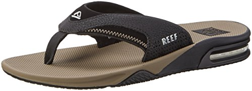 reef-fanning-tongs-hommes-noir-black-tobacco-44-eu