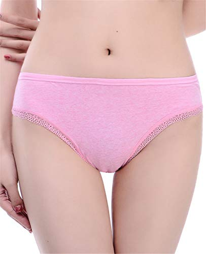 HHXWU Shorts, Damenunterwäsche, Reizwäsche, Slips, Unterwäsche, Unterwäsche, pink, M