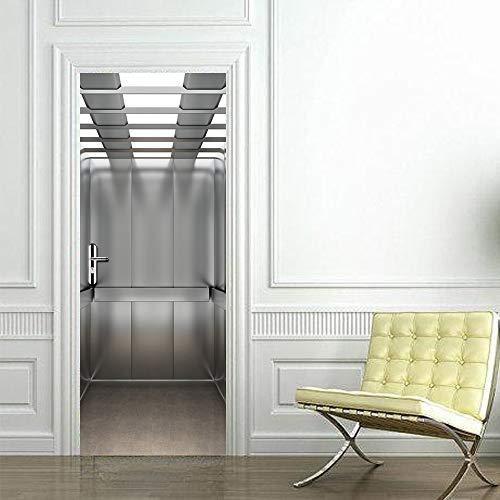 Póster 3D Foto Puerta Murales Papel pintado puerta