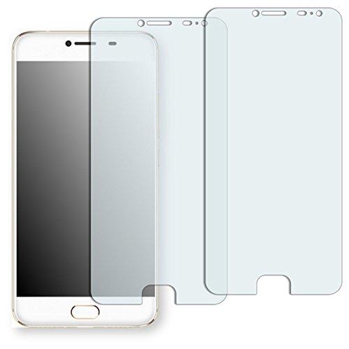 Gewölbten Blättern (2x Golebo crystal clear Displayschutzfolie für UMI Z-(transparent Displayschutzfolie, Air Pocket Kostenlose Anwendung, einfach zu entfernen) (bewusst kleiner als das Display aufgrund seiner gewölbten Oberfläche))