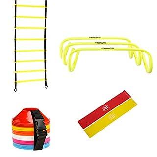 Kit d'exercice pour la Maison, la Gym, Les entraînements de Vitesse, l'agilité, l'entraînement