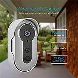 Wireless Video Türklingel Hause WIFI intelligente HD Intercom elektronische Türklingel Villa Handy Fernüberwachung wasserdicht