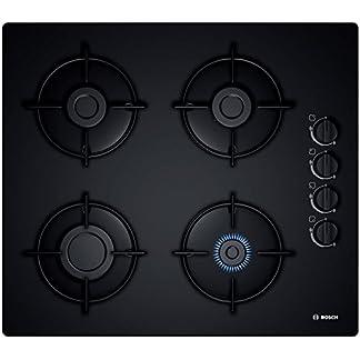 41vjbA4KDQL. SS324  - Bosch POP6B6B10 hobs - Placa (Integrado, Gas, Vidrio, Giratorio, Arriba a la derecha, 1m) Negro