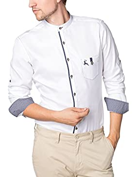 ETERNA Langarm Hemd SLIM FIT Oxford unifarben
