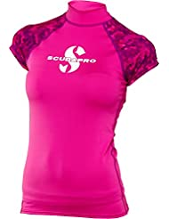 Scubapro Flamingo Rash Guard sans manches Femme slim fit T-shirt UV Collection 2017