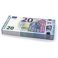 100 x €20 EURO (new 2015) Cashbricks® billets d'argent fictif (diminués jusqu'à 75% de la taille originale)