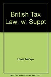 British Tax Law: w. Suppt