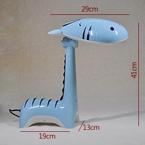 FWEF dibujos animados niños estudiantes LED ojo moda regalo plegable Super brillante Natural alta calidad Pony mesa luz 27 * 41 * 19 cm .