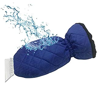 Bloomma Eiskratzer, Schneeschaufel-Handschuhe,Eiskratzer-Handschuh für Auto-Windschutzscheibe