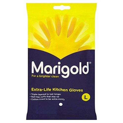 Marigold Gloves Extra Life Large