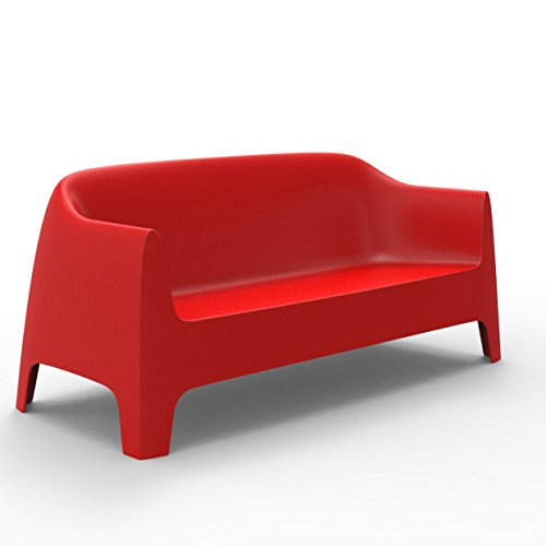 Vondom Solid Sofa Rouge