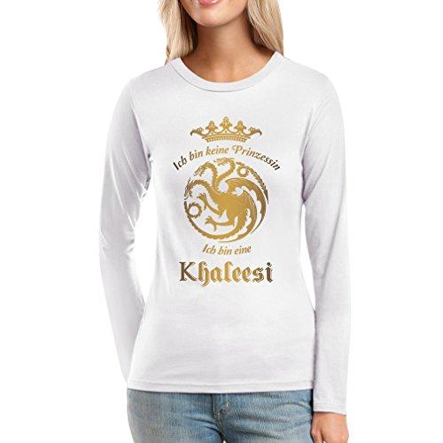 ich-bin-keine-prinzessin-ich-bin-eine-khaleesi-frauen-langarm-t-shirt-small-weiss