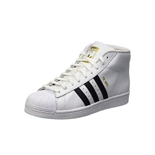 Adidas sneaker alta superstar pro model bianco eu 36 2/3 (uk 4)