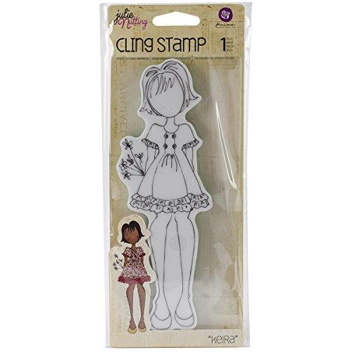 Prima Marketing en Mousse Julie Nutting Mixed Media étirable en Caoutchouc Stamps-Kiera 5,7 cm x 19 cm