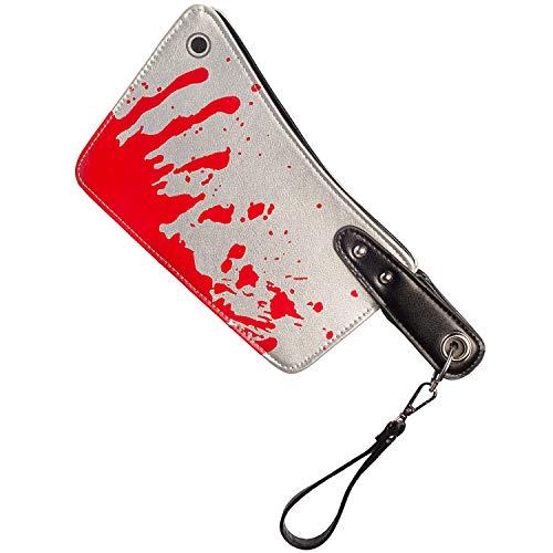 Orlob Fasching Damen Handtasche Blutiges Beil Halloween Kostüm-Zubehör Karneval schaurig Accessoires (Handtasche Kostüm Zubehör)