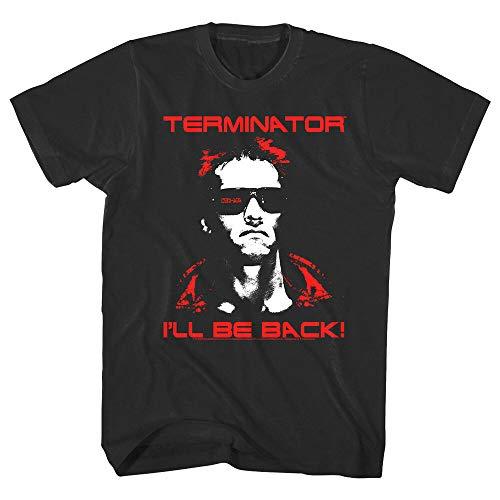 Terminator Schwarzenegger I'll Be Back Men's T Shirt